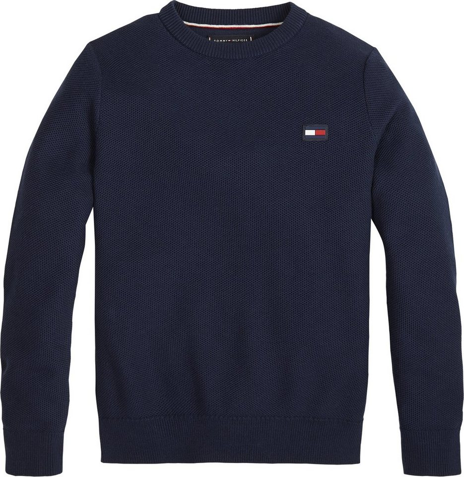 b9a339bfd635bb Tommy Hilfiger Pullover »ESSENTIAL STRUCTURED SWEATER« online kaufen ...