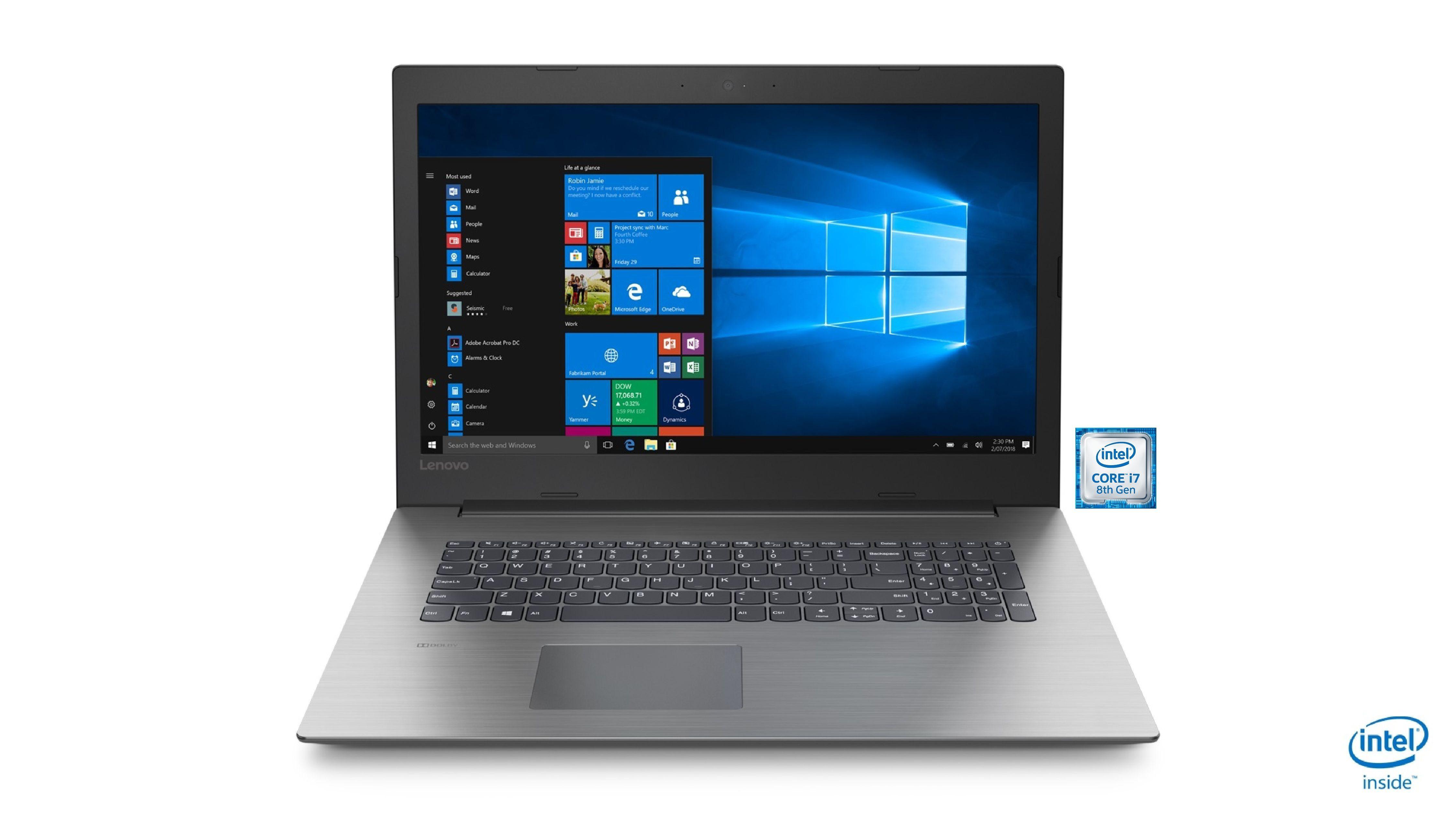 "LENOVO ideapad 330-17ICH Notebook »43,9 cm (17,3"") Intel Core i7, 256 GB + 1 TB, 8 GB«"