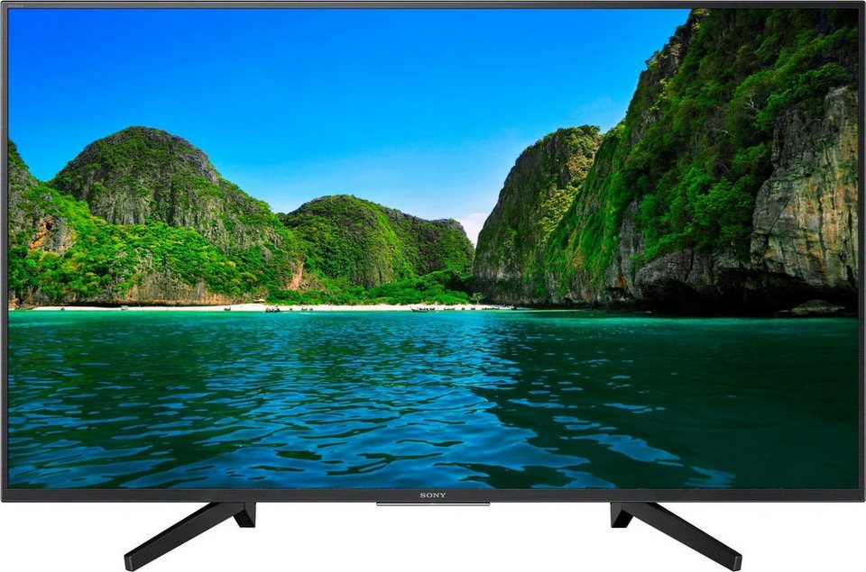 sony kd49xf7004 led fernseher 123 cm 49 zoll 4k ultra hd. Black Bedroom Furniture Sets. Home Design Ideas