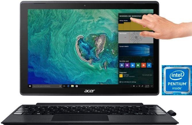acer sw312 31 p9hu convertible notebook 30 98 cm 12 2 zoll intel pentium inkl office 365. Black Bedroom Furniture Sets. Home Design Ideas