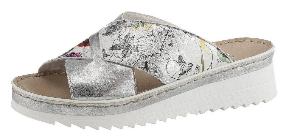 e6b0b81cb3417 Rieker Pantolette im angesagten Metallic-Look | OTTO