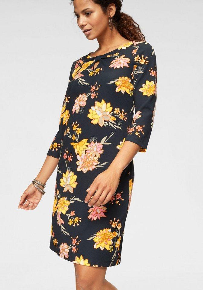 uk availability ac2c6 a2784 Betty Barclay Druckkleid mit Knotenoptik am Ausschnitt online kaufen | OTTO