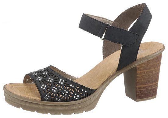 Rieker Sandalette mit Strass-Steine