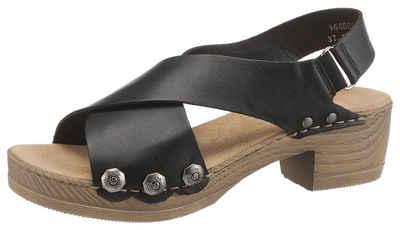 Rieker Sandalette mit angesagten Nieten