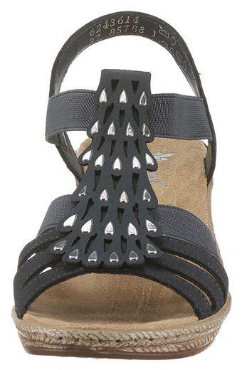 Rieker Look Rieker Modischen Sandalette Sandalette Im Rieker Look Modischen Sandalette Im waYwqTp