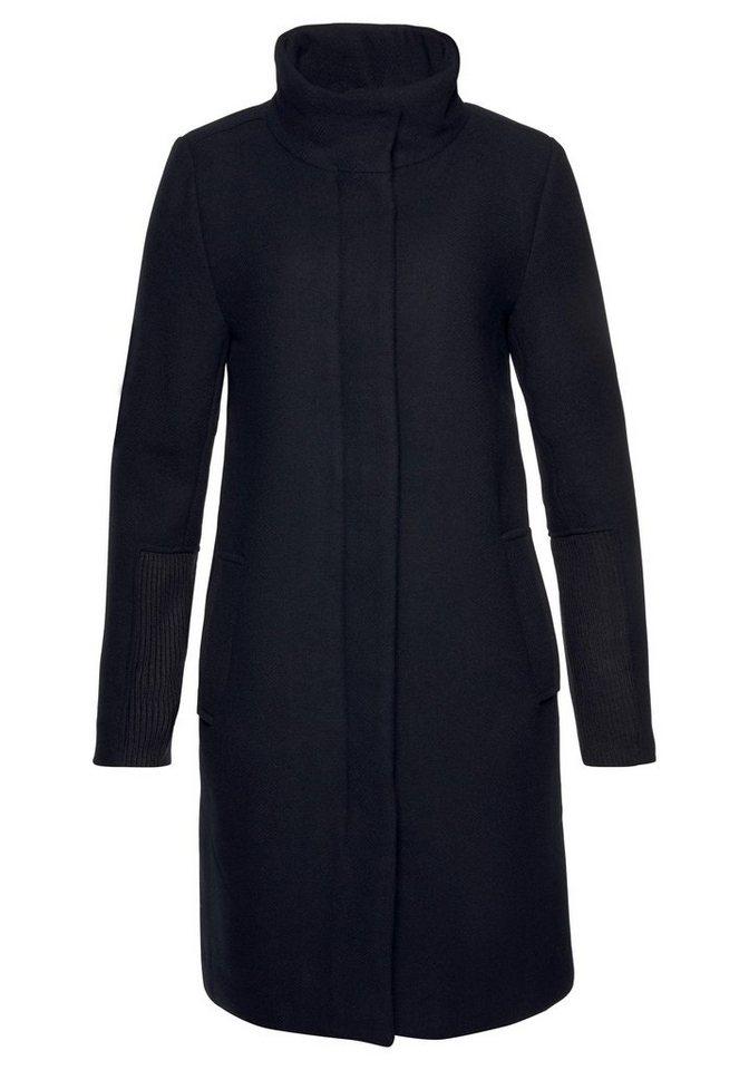 Ichi Wollmantel »Stora« schlichte Eleganz kaufen   OTTO 3bf57df7f5