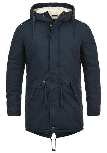 Solid Winterjacke »Darnell« warme Jacke lang geschnitten