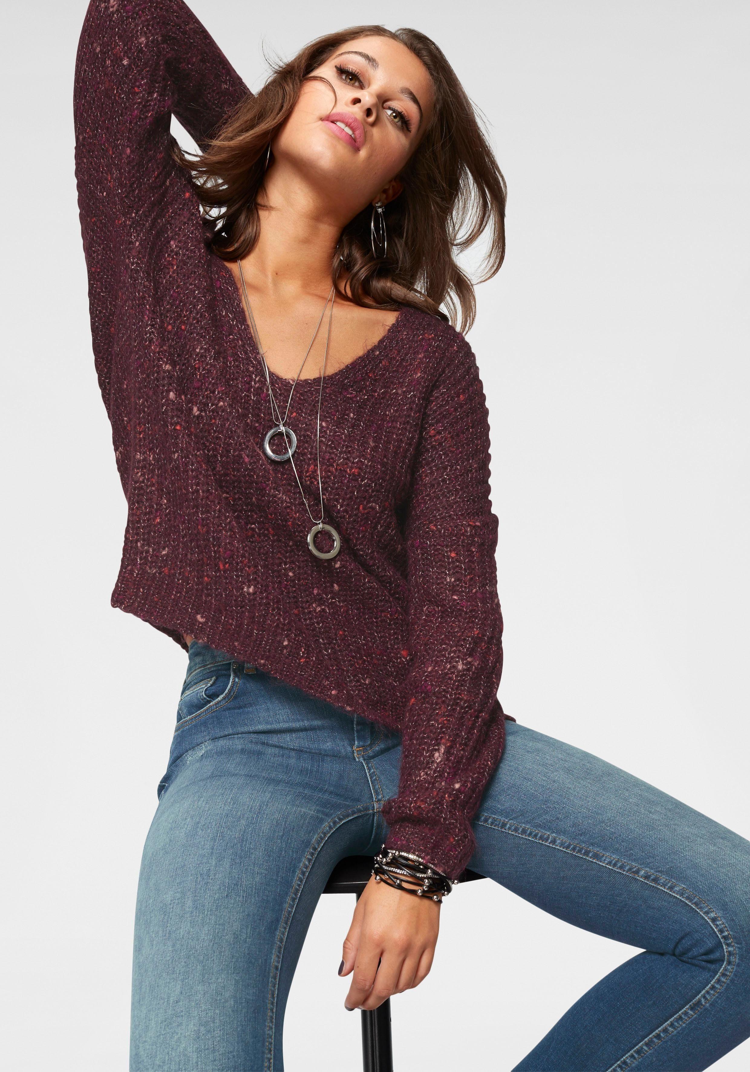 Only V-Ausschnitt-Pullover »HANNI«