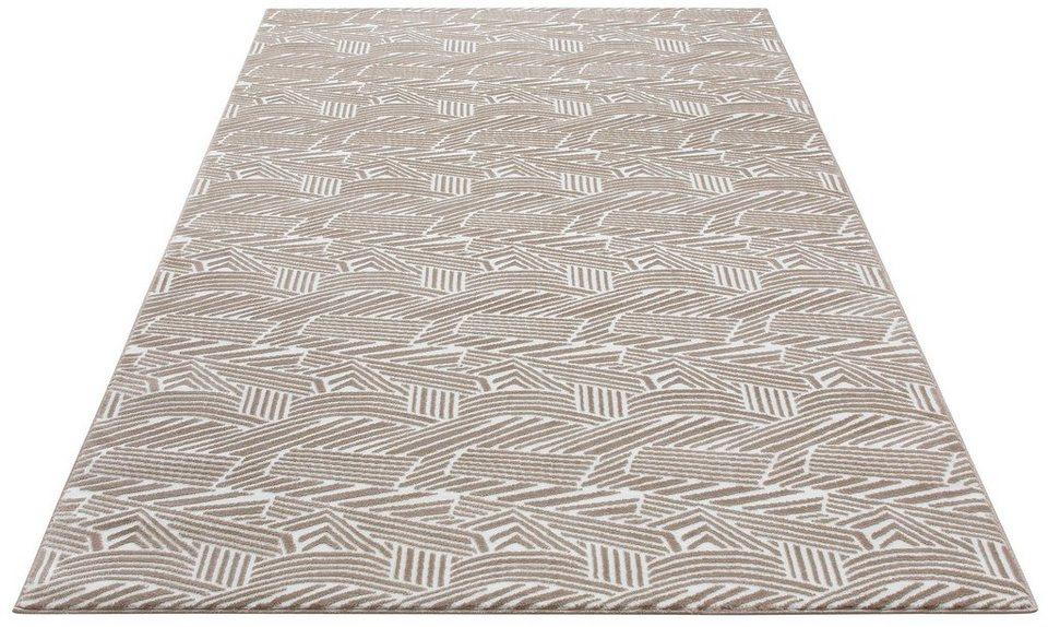 teppich megan my home selection rechteckig h he 12 mm mit carving effekkt online kaufen otto. Black Bedroom Furniture Sets. Home Design Ideas
