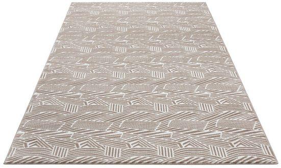 Teppich »Greta«, my home Selection, rechteckig, Höhe 12 mm, Mit Carving-Effekkt
