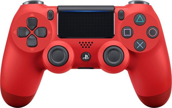 PlayStation 4 »PS4 Magma Red v2 Dualshock« Wireless-Controller