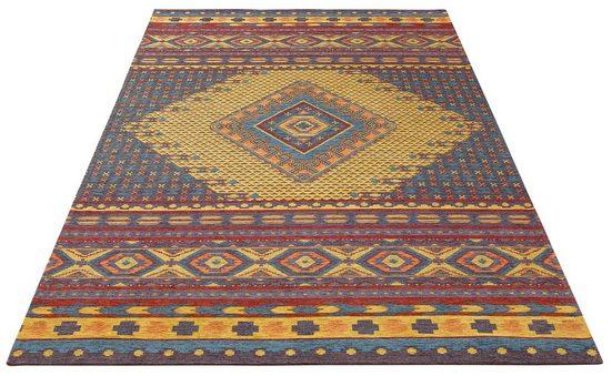 Teppich »Lewon«, my home, rechteckig, Höhe 2 mm, Kelim - Dekor