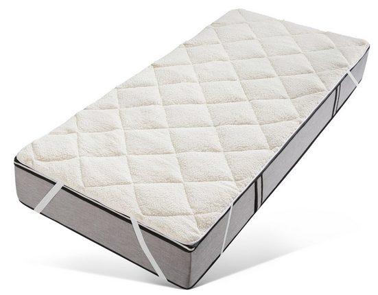 Matratzenauflage »Santus« my home, wasserdicht aber kuschelig und wärmend, in Lammfloor-Optik