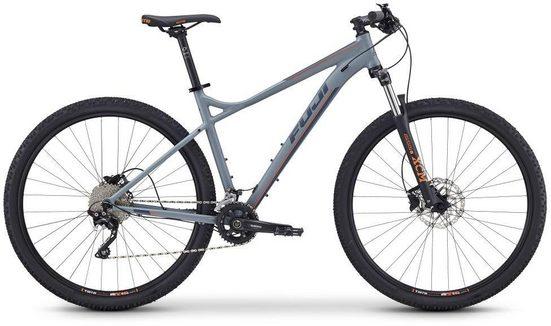 FUJI Bikes Mountainbike »Nevada 29 2.0 LTD«, 20 Gang Shimano XT Schaltwerk, Kettenschaltung