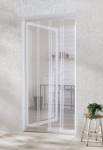 hecht international Insektenschutz-Vorhang »COMFORT«, weiß, BxH: 100x220 cm