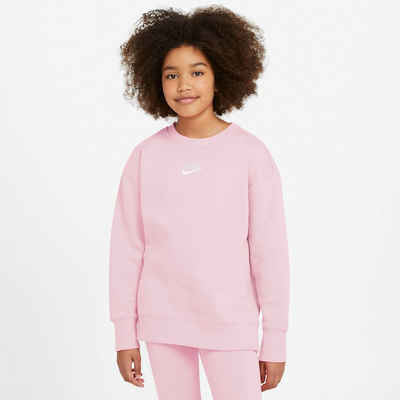 Nike Sportswear Sweatshirt »CLUB FLEECE BIG KIDS (GIRLS) CREW«
