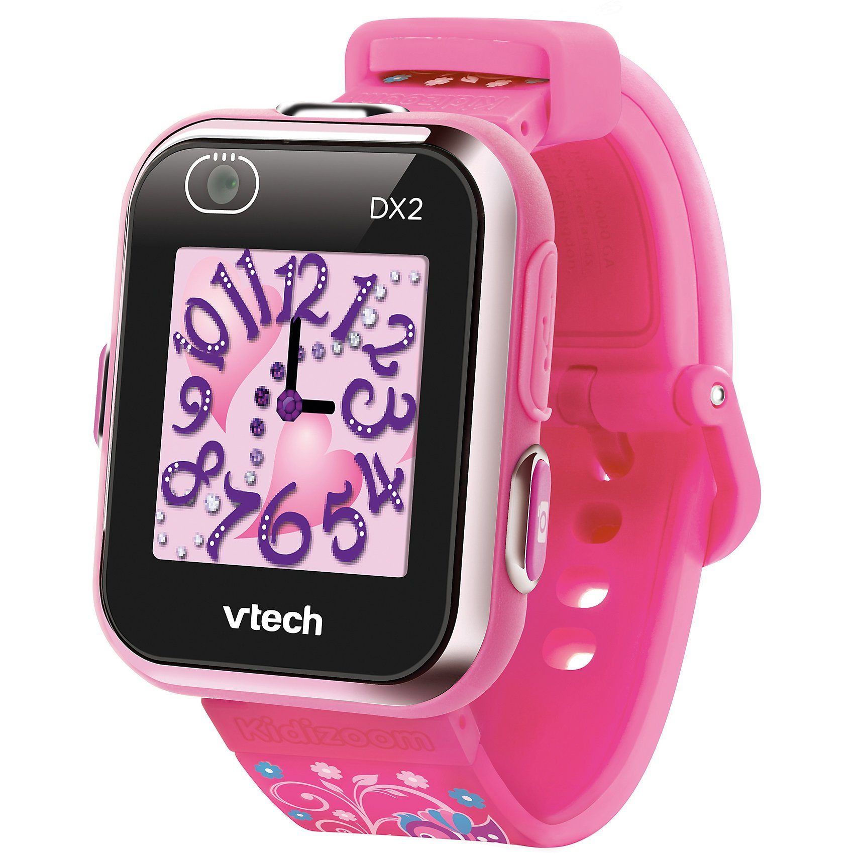 Vtech® Kidizoom Smart Watch DX2 pink version with flowers