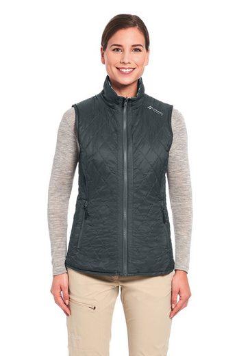 Maier Sports Steppweste »Carp Vest W« Kuschlig warm für Herbst und Winter