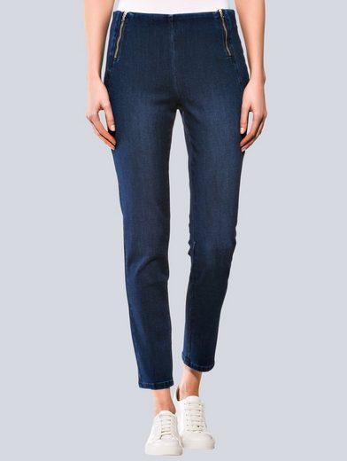 Alba Moda Jeans mit figurgünstiger Nahtführung