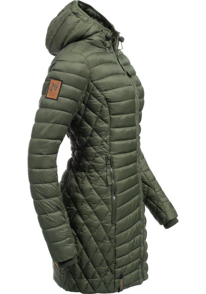 Navahoo Wintermantel »Zea« modischer Damen Winter Steppmantel online ... 87b3ff48ee