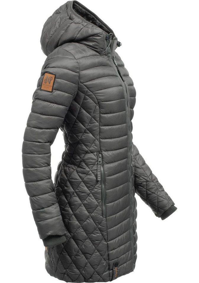 c2e1ba5cdddb Navahoo Wintermantel »Zea« modischer Damen Winter Steppmantel online ...