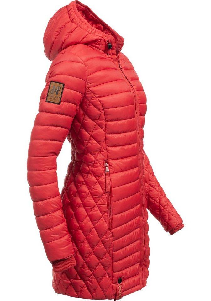 61c0ff01dc8509 Navahoo Wintermantel »Zea« modischer Damen Winter Steppmantel online ...