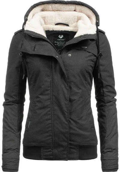 50791f1816598 Ragwear Winterjacke »Ewok« stylische Outdoorjacke m. Teddyfell-Kapuze