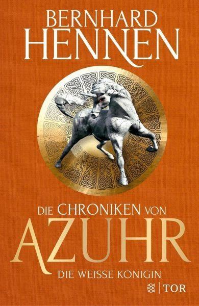 Buch mit Leinen-Einband »Die Weiße Königin / Die Chroniken von Azuhr Bd.2«