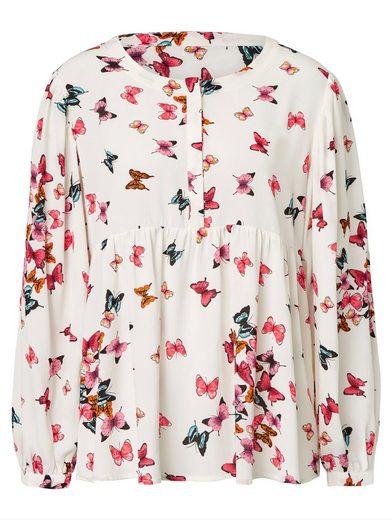 Sienna Schlupfbluse mit Schmetterlingen