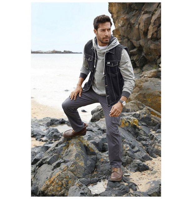 Jan Vanderstorm Jeansweste »THIBOR« aus elastischem Material-Mix | Bekleidung > Westen > Jeanswesten | jan vanderstorm