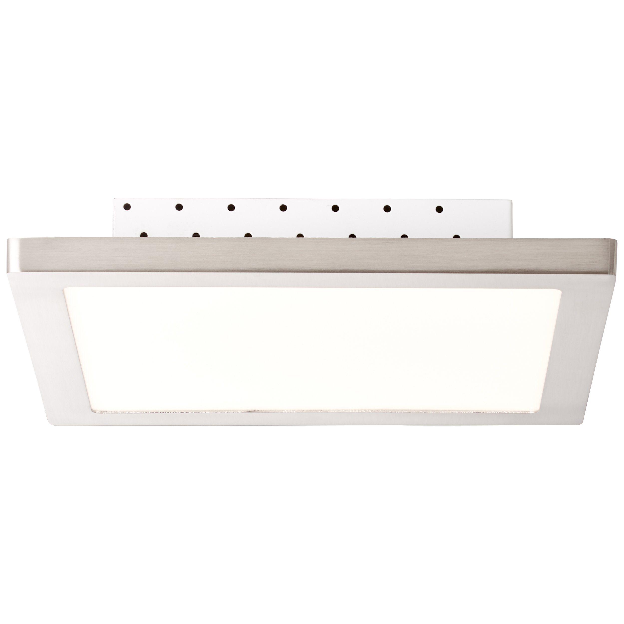 Brilliant Leuchten Smooth LED Deckenaufbau-Paneel 30x30cm eisen