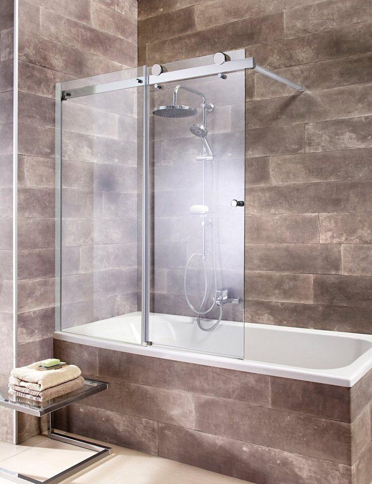 badewannenaufsatz mauritius mit schiebet r otto. Black Bedroom Furniture Sets. Home Design Ideas