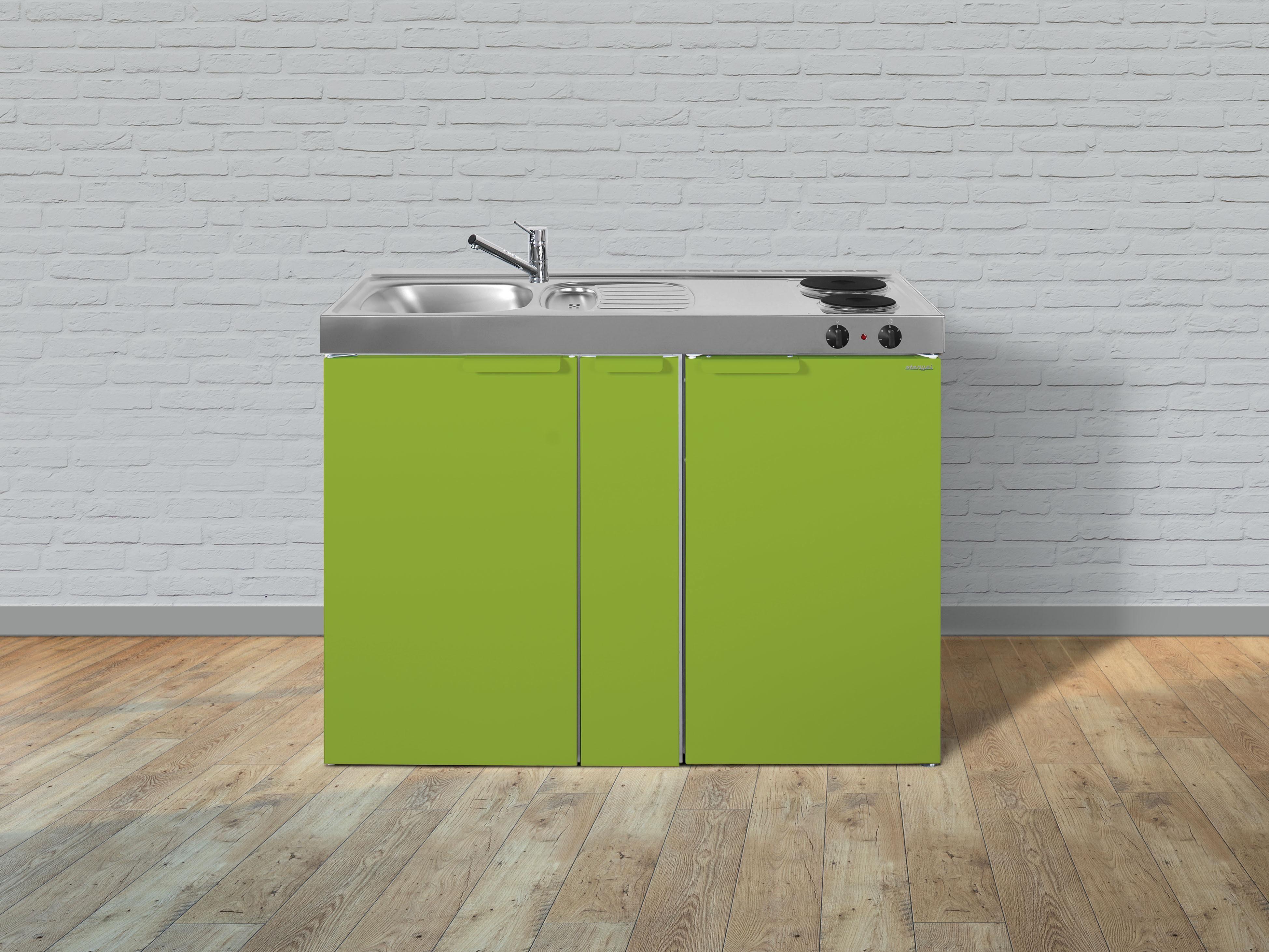 Miniküche Mit Kühlschrank 120 Cm : Stengel metall miniküche mk a apothekerauszug kühlschrank