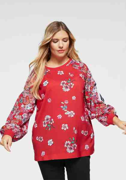 AJC Shirtbluse mit floralem Druck