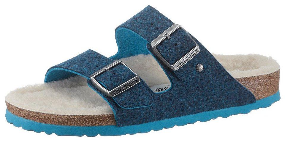 Birkenstock »Arizona« Pantolette in schmaler Schuhweite, mit kuscheliger  Innensohle d1e9832684