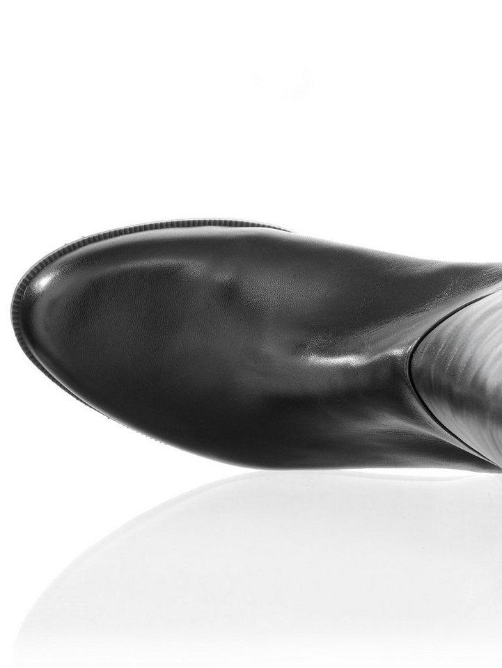 Alba Moda Stiefel im hinteren Bereich mit Stretch-Einsatz