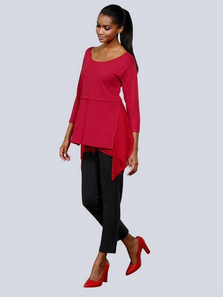 Alba Moda Pullover in Lagen-Look