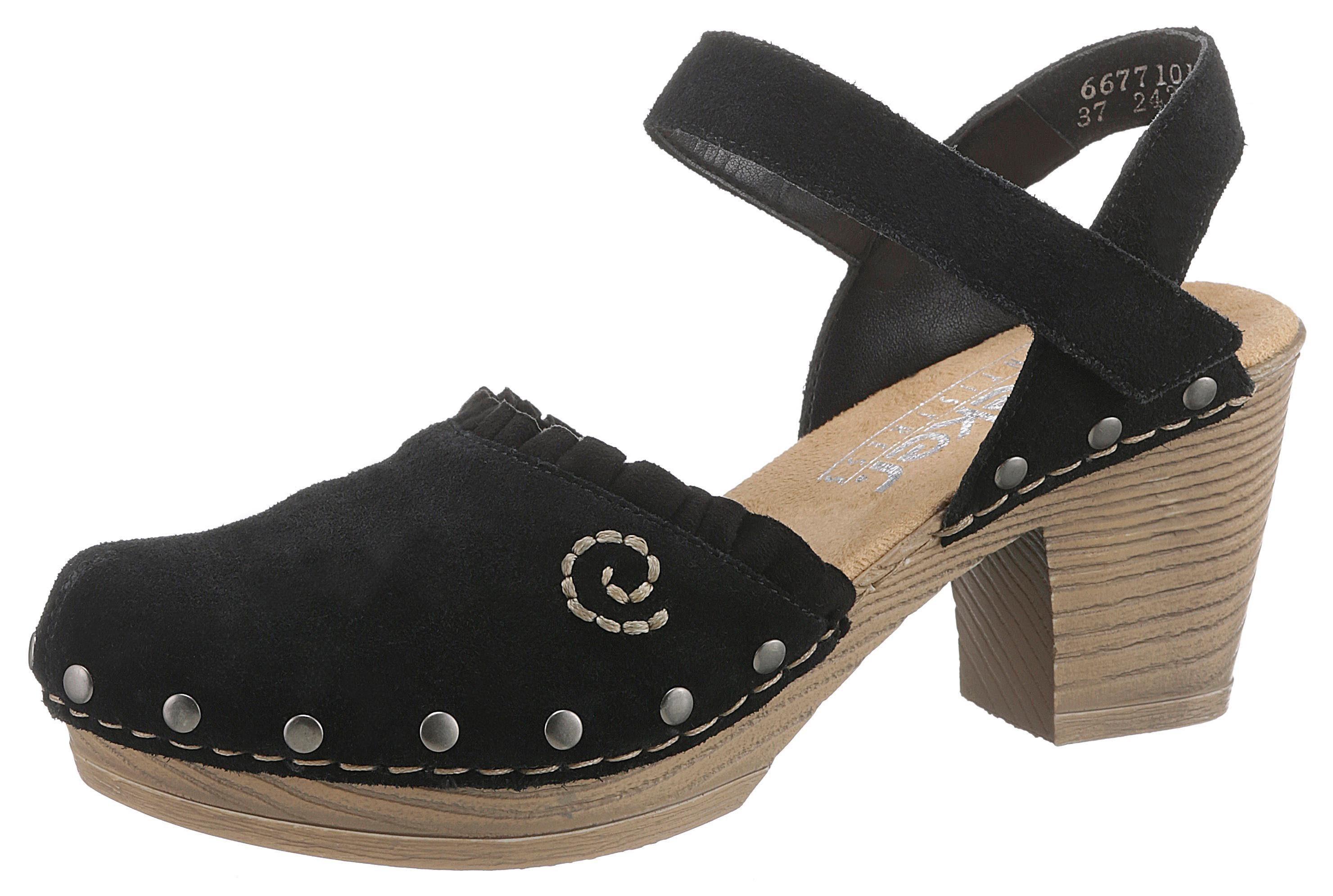 Rieker Sandalette mit Nieten, Mit aufwändiger Steppnaht online kaufen | OTTO