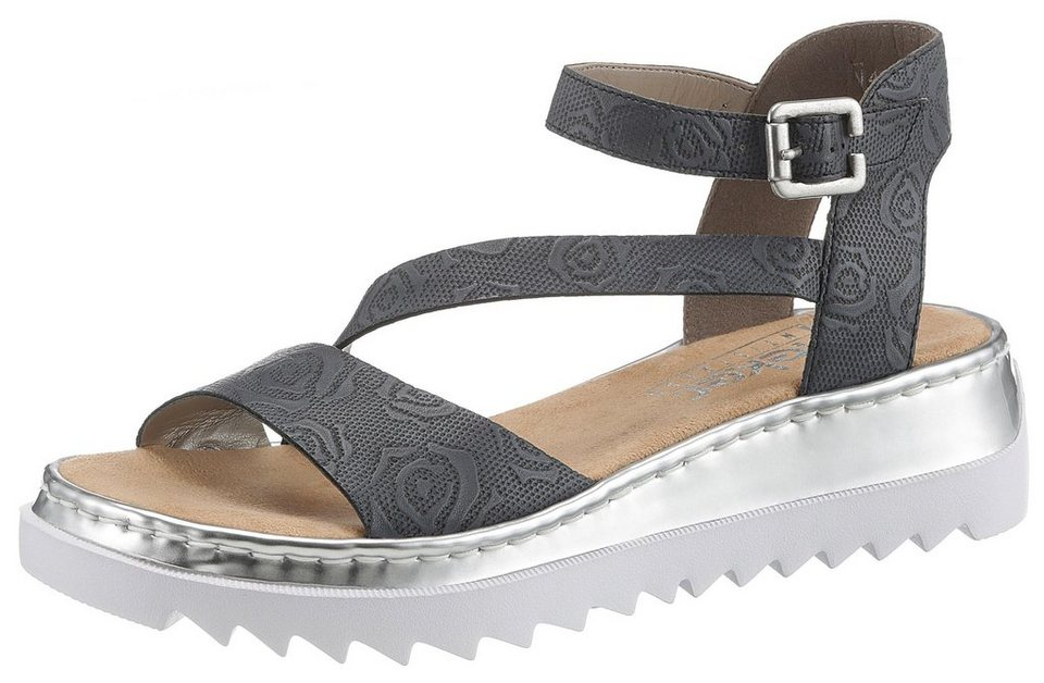 best sale sneakers available Rieker Riemchensandale mit trendiger Plateausohle   OTTO