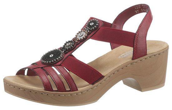 Rieker Sandalette mit Elastikbänder