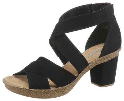 7d99dfb5fe14c6 Rieker Sandalette mit Klettverschluss-Riemchen