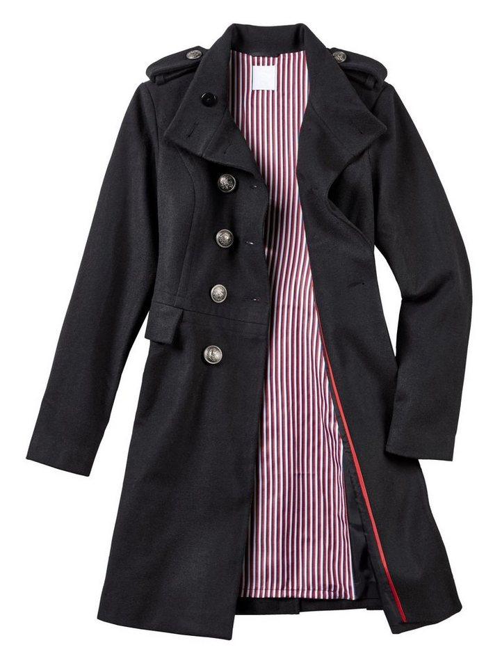 fde0272e34bd09 Alba Moda Mantel aus hochwertiger Kochwoll-Qualität online kaufen