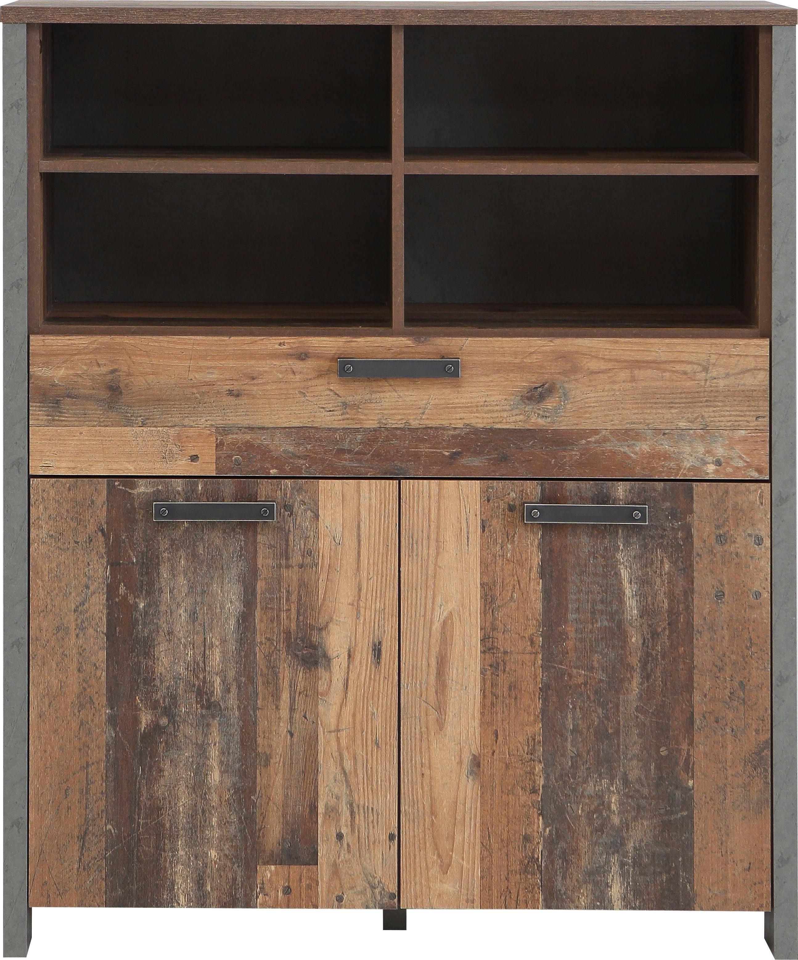 FORTE Highboard »CLIF« , Breite 106, 7 cm