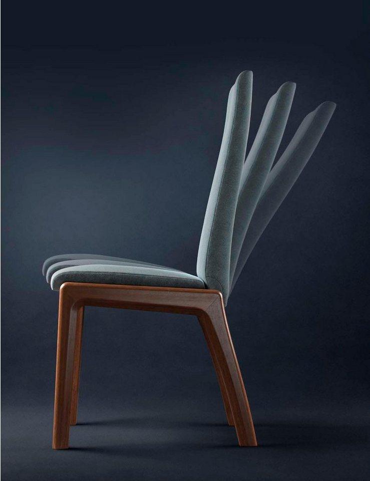 Stressless® Dining Stuhl »Mango Low D100«, Stuhlbeine Walnuss