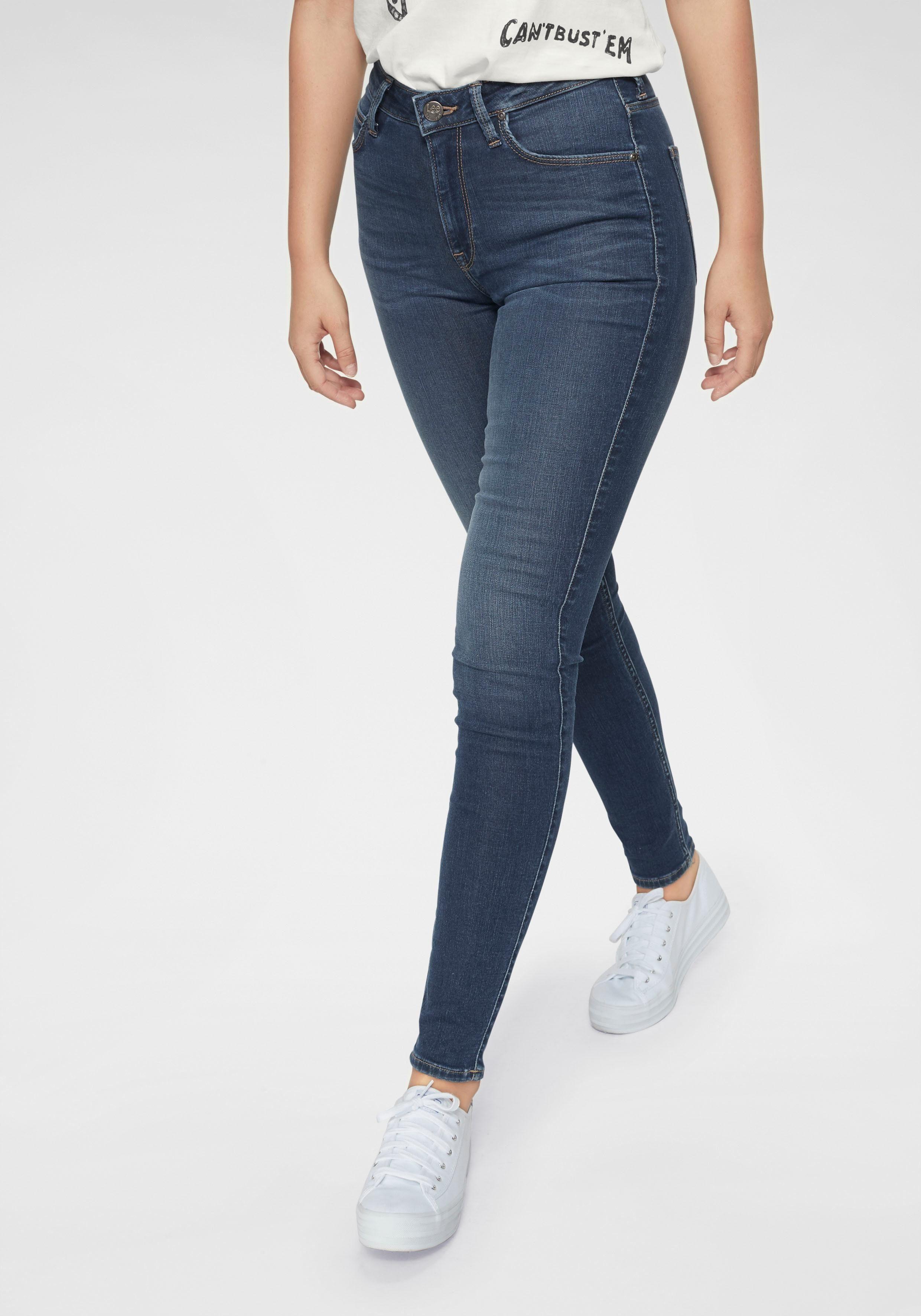 LEE Damen Jeans Stretch-Anteil