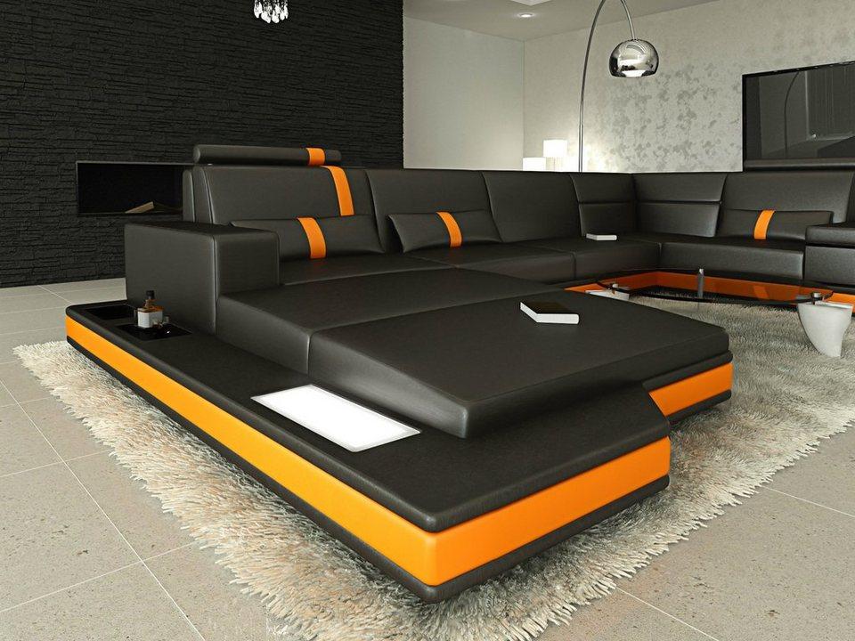Sofa Dreams Sofa »Messana«, U Form, Hochwertige ...
