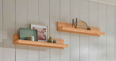 Premium collection by Home affaire Wandregal »Burani«, Set, teilmassiv