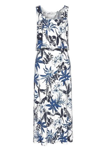 Boysen's Im Tropical Alloverprint design Maxikleid rYSAzwrvZ