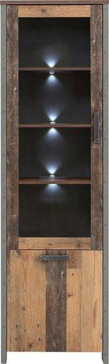FORTE Vitrine »CLIF«, Höhe 204,7 cm