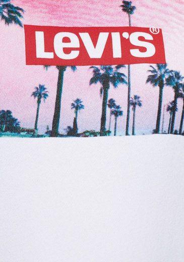 Graphic frontprint Sweatshirt Levi's® Foto Crew« »plus Plus Relaxed I1xn0Rg